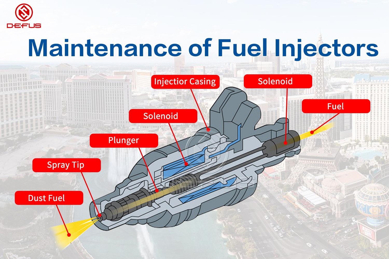 DEFUS-Renault Fuel Injector-maintenance Of Fuel Injectors