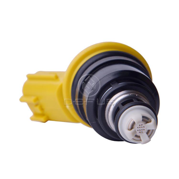 DEFUS Yellow Side 555cc Fuel Injector 16600-RR543 For Nissan Skyline R33 Silvia S14  Z32 SR20DET