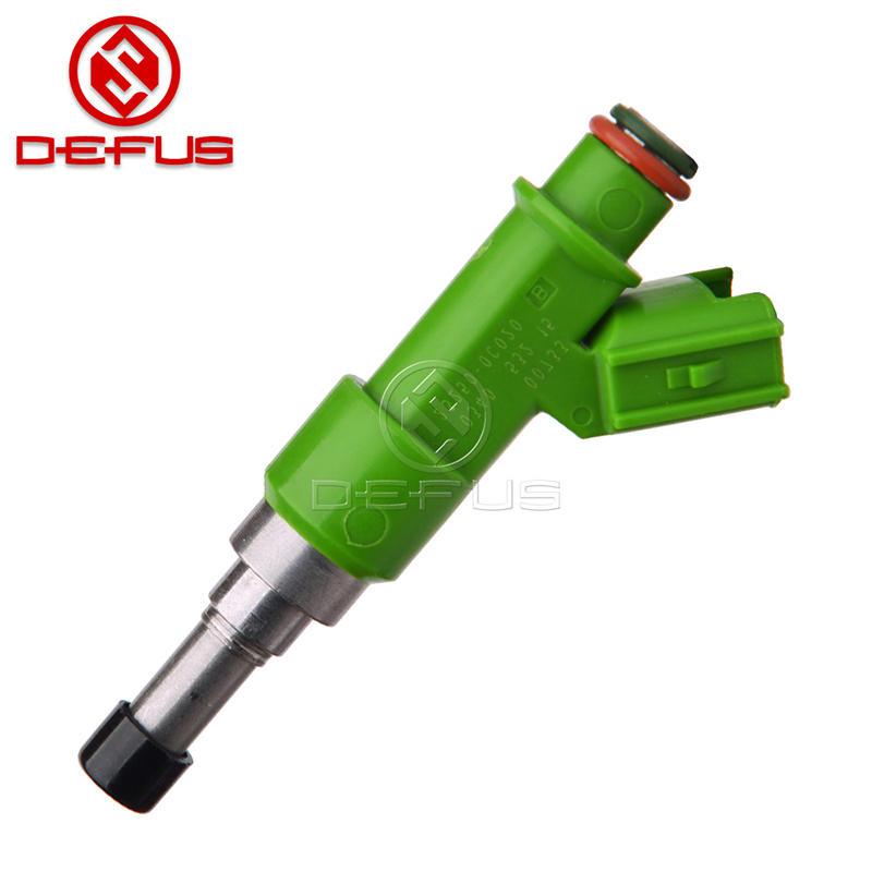 DEFUS Fuel Injector For TOYOTA 2TRFE Hilux Vigo Oem Number 23250-0C020 23209-0C020 Green Nozzle