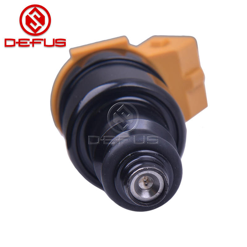 DEFUS Fuel Injector 037906031AE Nozzle For Golf Glx 2.0 8V Injection Values Petrol Gasoline High Quality 2 Holes Yellow