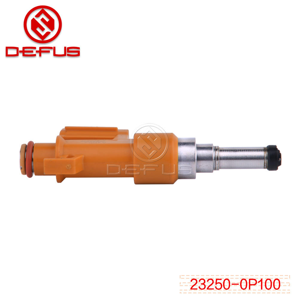 Fuel injector nozzle 23250-0P100 For Toyota flow matched