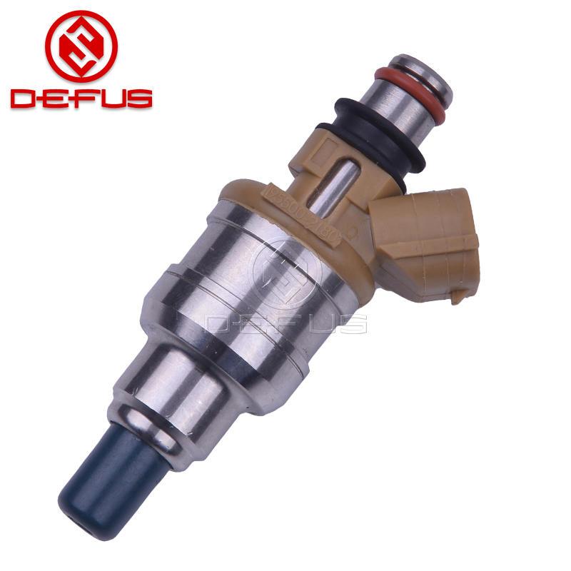 Fuel Injector 195500-2180 For Mazda Miata 1.8L For Ford Escort Sephia Mercury 1.8L L4 1955002180