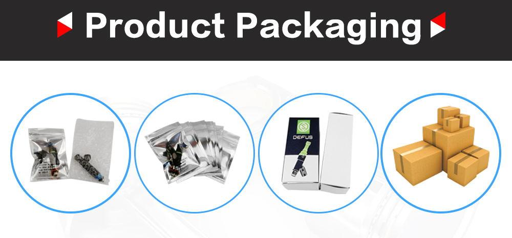 INP-780 & INP-781 Fuel Injector for 99-02 Mazda Protege 1.8L 626 2.0L nozzel-9