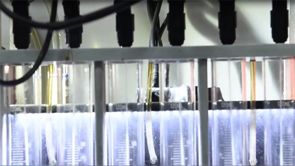 GT1000 Fuel Injector nozzle test video
