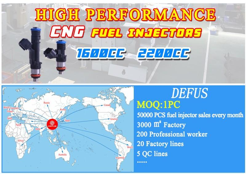 DEFUS customized GM car injector DELPHI fuel injectors GM fuel injection GM fuel injector BMW fuel injector large-scale production enterprises for wholesale