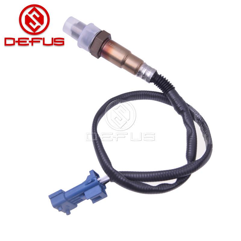 original car oxygen sensor raw material for lambda Peugeot Citroen Fiat Lancia rear oxygen sensor 0258006185