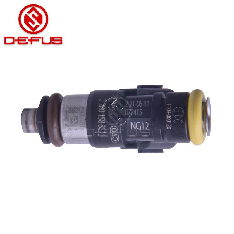 210lb 2200cc Fuel Injectors 0280158821 For Bosch LS3 LS7 Corvette C6 Z06 EV14