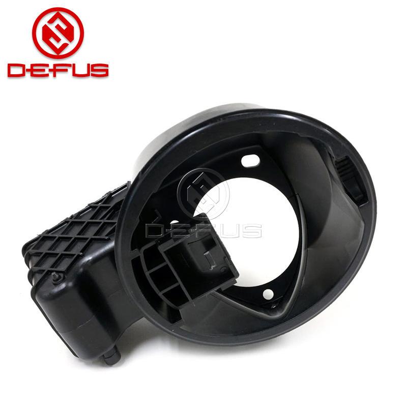 DEFUS Fuel Filler Neck Door Cap Housing OEM 4L3Z9927936BA for 04-08 F150 /Mark Gas Tank Lid